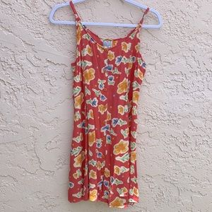 Sacred Thread Floral Mini Dress